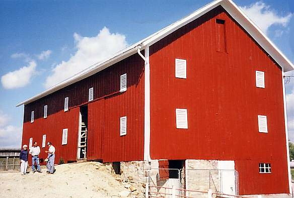 Strabala Barn, after restoration.