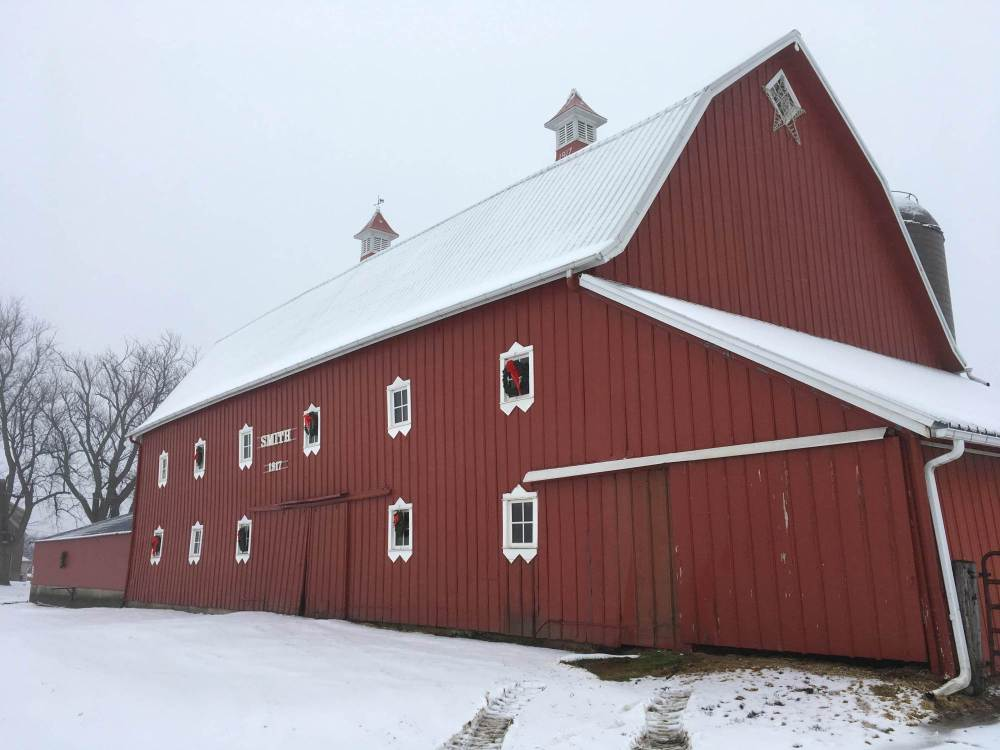 Smith Barn in Feb 10, 2017